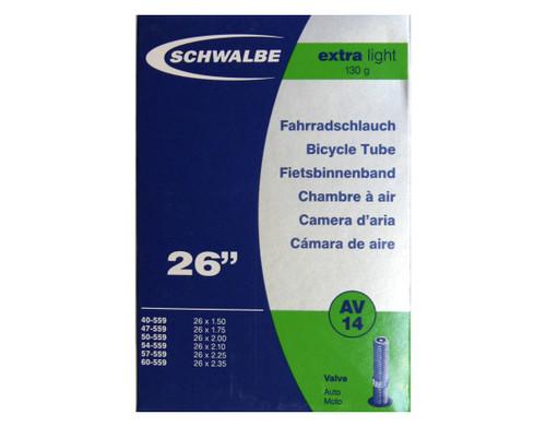 Schwalbe AV15 Schrader Inner Tube 700 x 18-28mm 40mm Valve