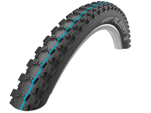 Schwalbe Addix Fat Albert Rear Evo SpeedGrip TL-Easy Folding Tyre 27.5 x 2.35