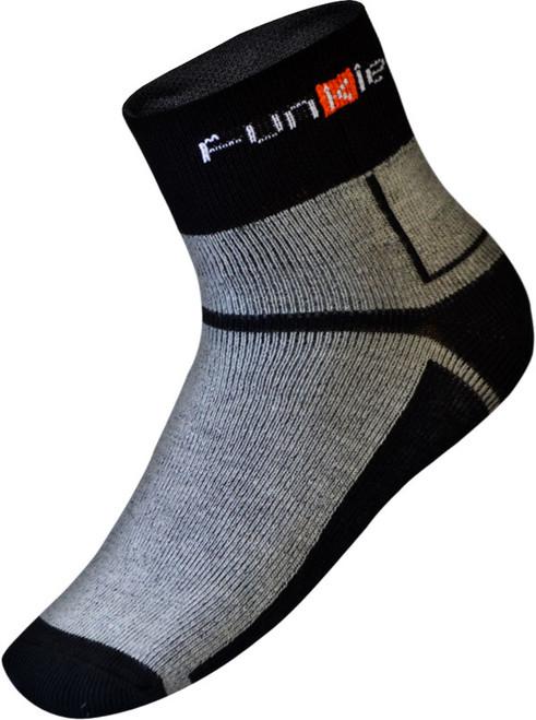 Funkier Lorca Winter Thermo-lite Socks | Grey/Black | SK-44