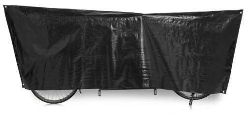 VK Tandem Waterproof Tandem Bicycle Cover Inc. 5m Cord   Black