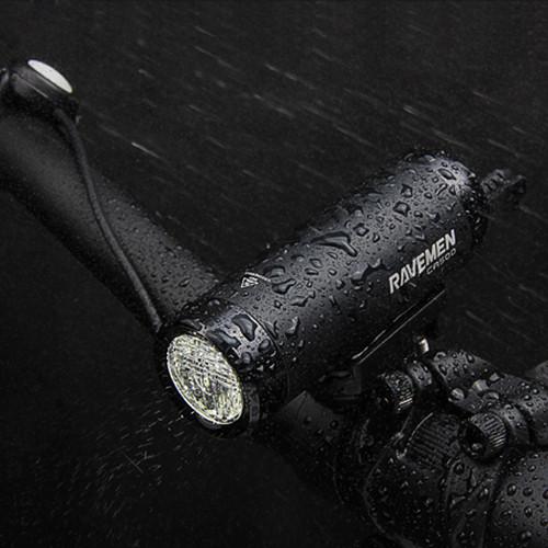 Ravemen CR500 USB Rechargeable DuaLens Front Light w. Remote | 500 Lumens
