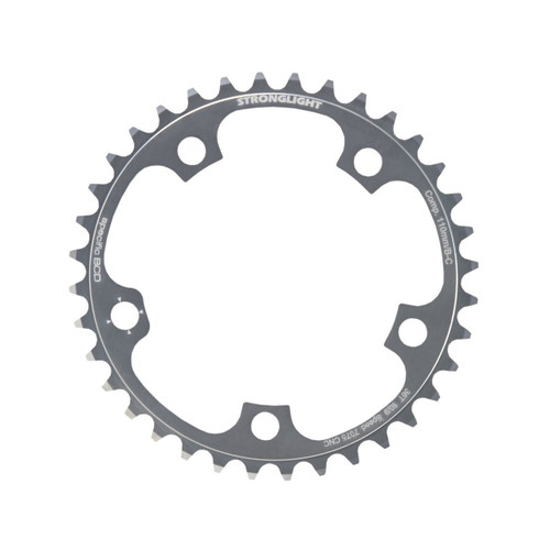 Stronglight Zicral 7075 9/10 Speed Chainring | 110mm BCD | Silver | All Sizes