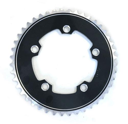 "Gebhardt 1/8"" Track Chainring | Black | 144mm BCD | All Sizes"