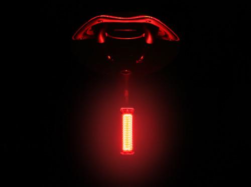 Ravemen TR50 USB Rechargeable Rear Light in Black | 50 Lumens |