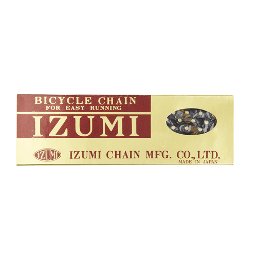 Izumi Standard Chain 1/2 X 116 Links In Black with Gold Pins