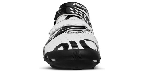 Bont Riot Buckle Shoe White/ Black Fully Mouldable All Sizes