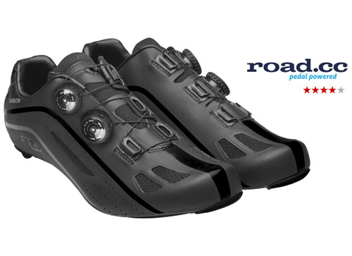 FLR F-XX Strawweight Road Race Full Carbon Sole Shoe in Black All Sizes