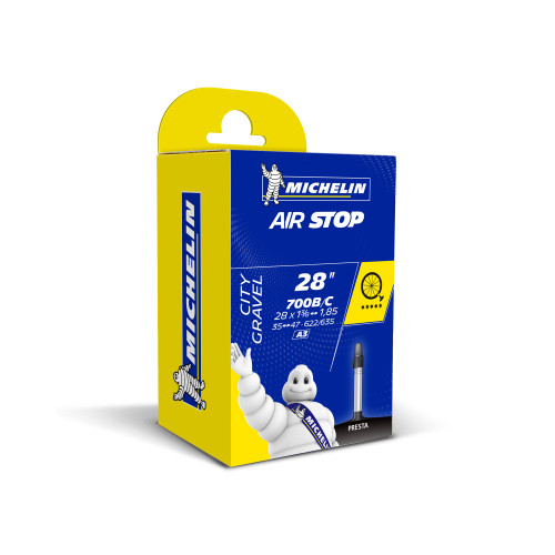 Michelin Airstop Road Inner Tube 700c x 35-47mm 40mm Presta Valve