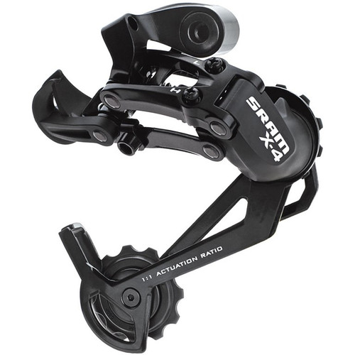 Sram X4 7/8/9 Speed Rear Derailleur Black Long Cage