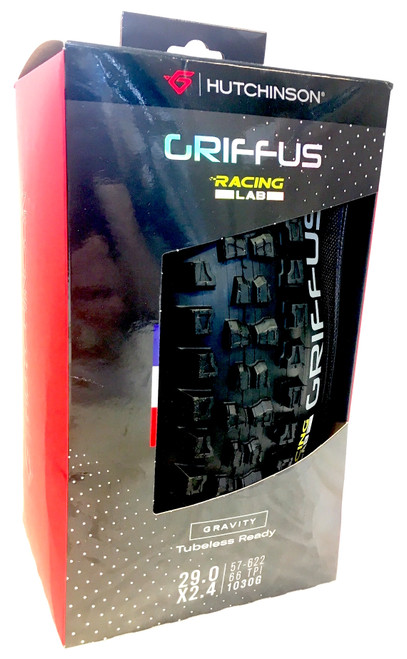 Hutchinson Griffus Racing Lab MTB Enduro Tyre 29 × 2.40 Tubeless Ready HS RR