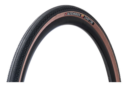 Hutchinson Overide Gravel Tan Wall Tyre 700×38 Tubeless Ready HS