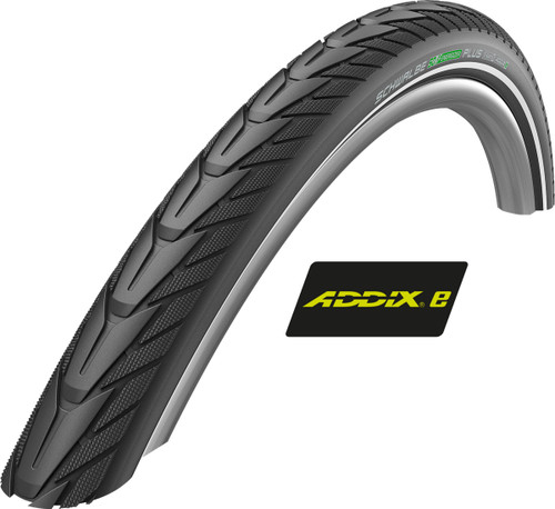 Schwalbe Addix-E Energizer Plus GreenGuard Black/Reflex Rigid Tyre For E-Bike