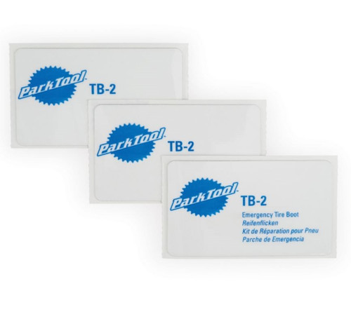 Park Tool TB-2 Emergency Tire Boot Set Of 3