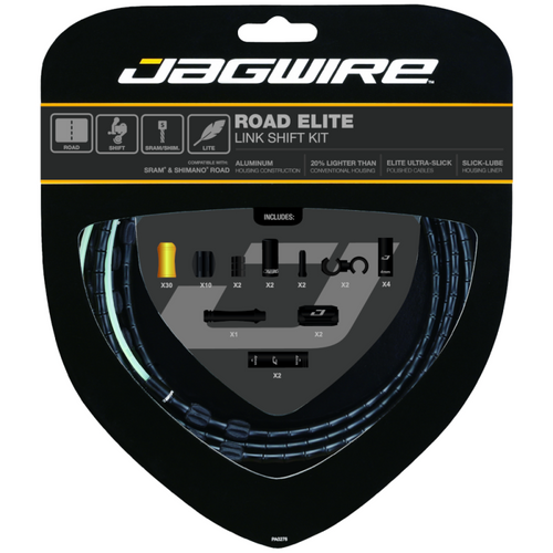 Jagwire Road Elite Link Shift Kit in Black from Sprockets