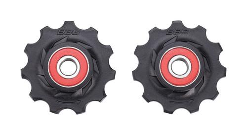 BBB RollerBoys 11T Ceramic Jockey Wheels 9/10/11 Speed Shimano-Campag-Sram