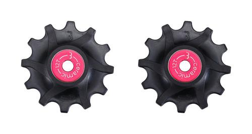 BBB RollerBoys Ceramic 12T Jockey Wheels Sram Compatible BDP-16