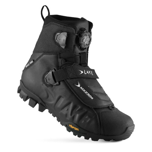 Lake MXZ304 Winter Boot Standard Fit Black All Sizes