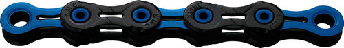 KMC X11 DLC 11 Speed Chain 118 Link Black/Blue