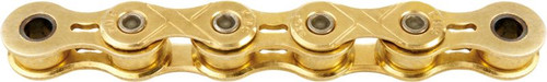 KMC X101 1spd 112 Link Track Chain Gold