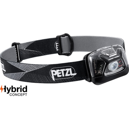 Petzl Tikka 300 Lumen Headlamp Black