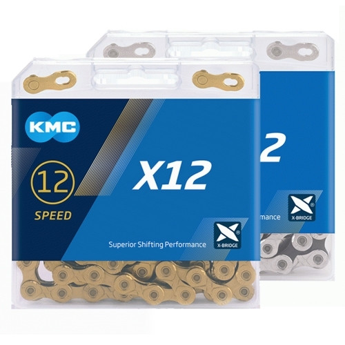 KMC X12 126 Link 12 Speed Chain Silver