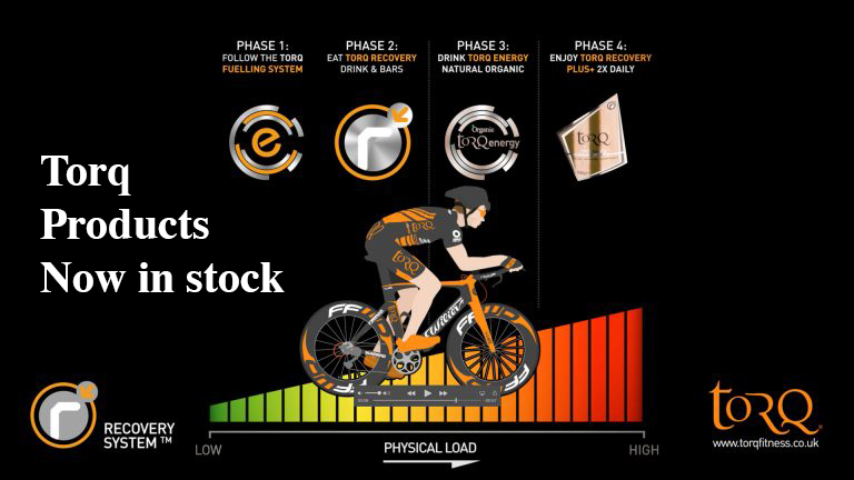 Torq Fitness Recovery System for Cyclists