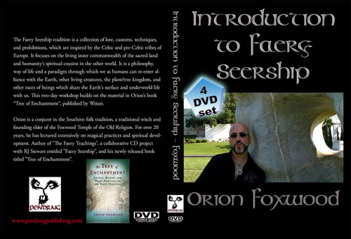Introduction to Faery Seership DVD set by Orion Foxwood