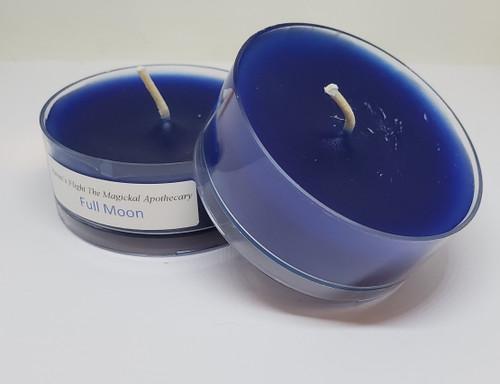Full Moon Tea Light Candle Large