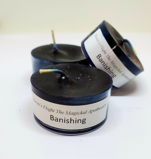 Banishing Tea Light Candles Small