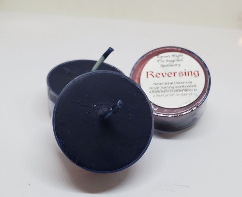 Reversing Tea Light Candles Small