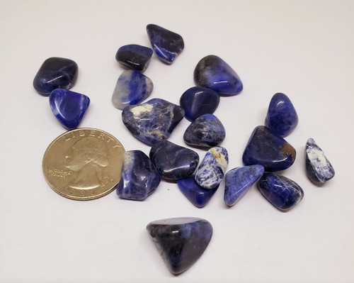 Sodalite, tumbled 1 oz