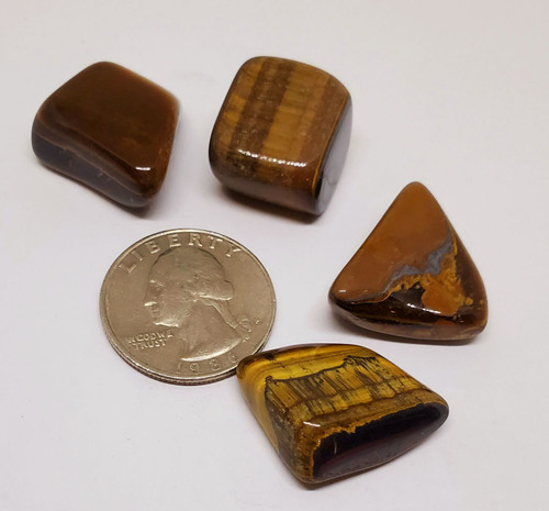 Tiger's Eye, tumbled 1 oz