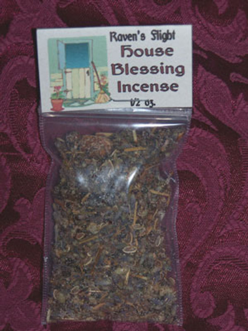 House Blessing Charcoal Incense 1oz bag