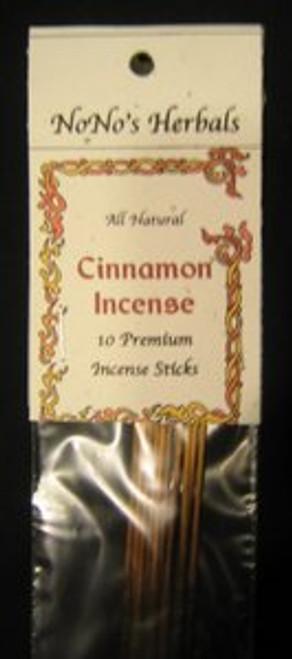 Cinnamon Incense Sticks-NoNo's Herbals