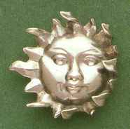 Solar King Sterling Silver Clutch Pin *Sale Price*
