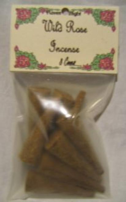 Wild Rose Large Incense Cones