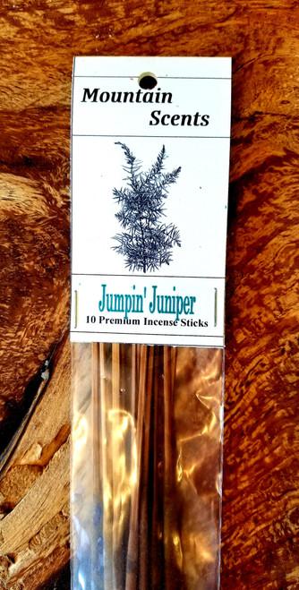Jumpin' Juniper Premium Incense Sticks