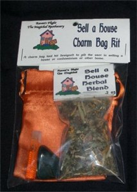 Sell a House Charm Bag Spell Kit