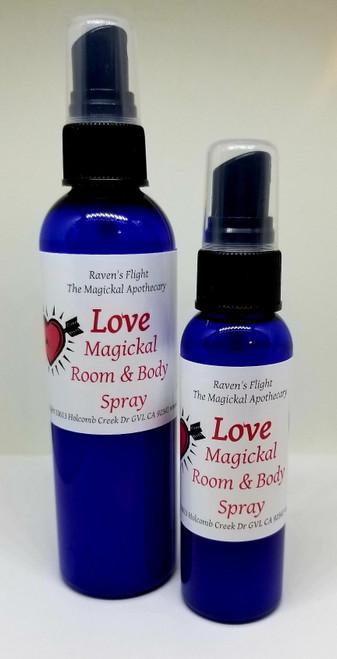 Love Magickal Room & Body Spray 4 oz