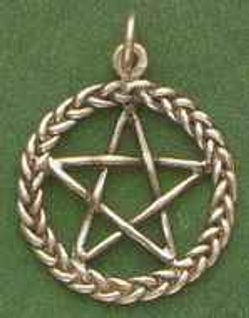 Braided Pentagram Pentacle by Brigid's Fire