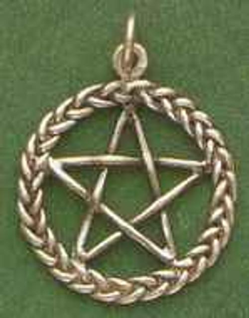 Braided Pentagram Pentacle by Brigid's Fire