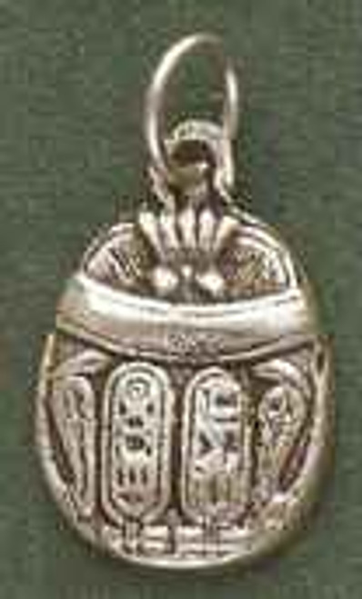 2 Sided Scarab Pendant by Brigid's Fire