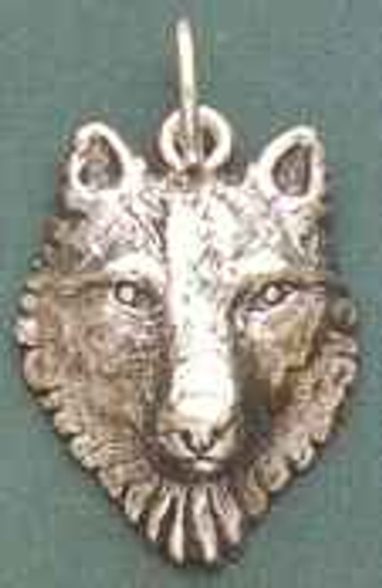 Wolf Totem Pendant by Brigid's Fire