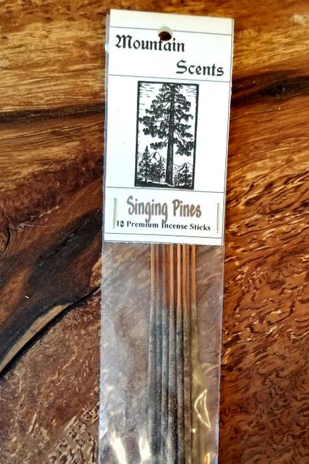 Singing Pines Mountain Scents Premium Stick Incense