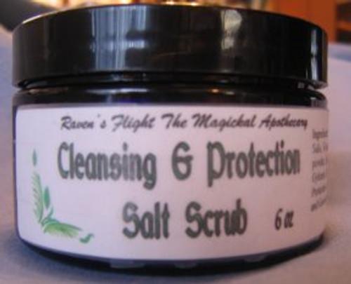 Cleansing & Protection Salt Scrub 6 oz