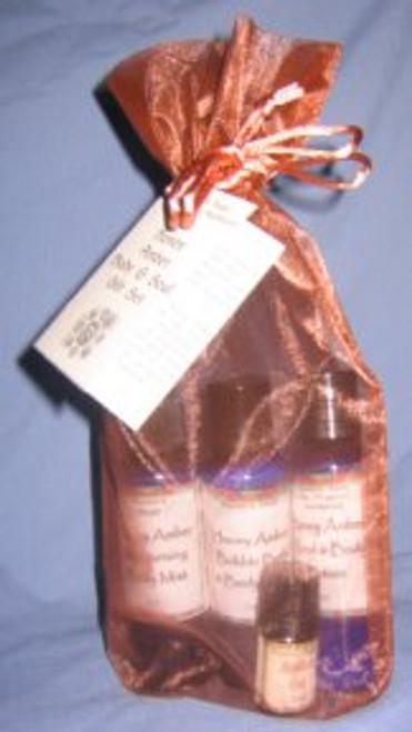 Honey Amber Body & Soul  Gift  Set