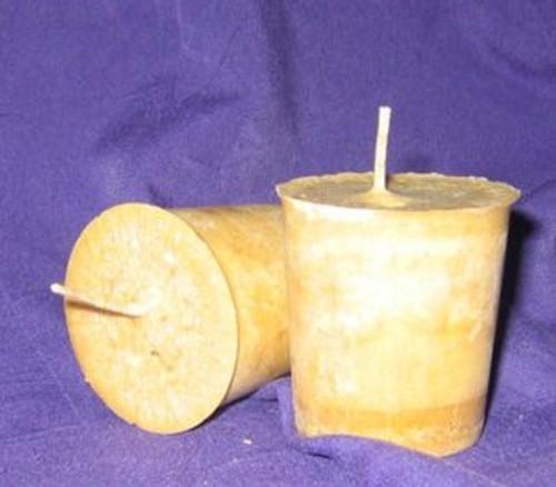 Sacred Sandalwood Votive Candle *Palm Wax*