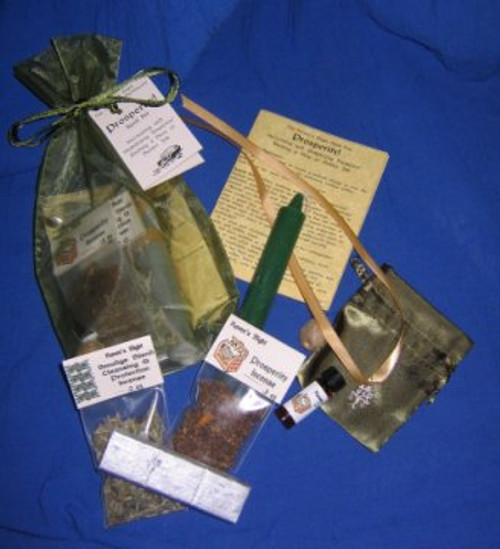 Prosperity Ritual Spell Kit