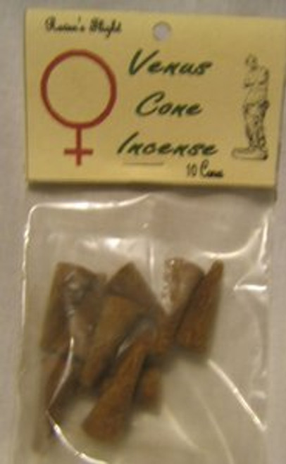 "Venus Planetary 2""  Incense Cones (6 large)"