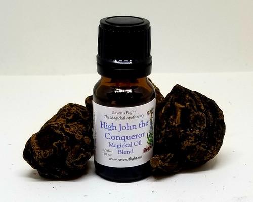 High John the Conqueror Magickal Oil Blend